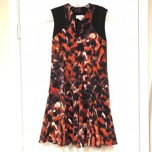 Jessica Simpson Sleeveless V Neck Shift Dress
